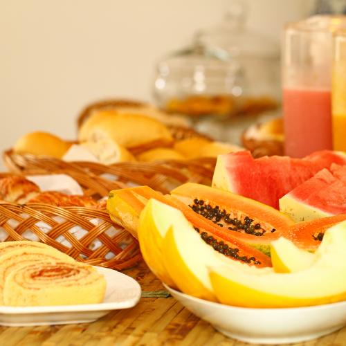 café da manhã - Pousada da Villa - Fernando de Noronha
